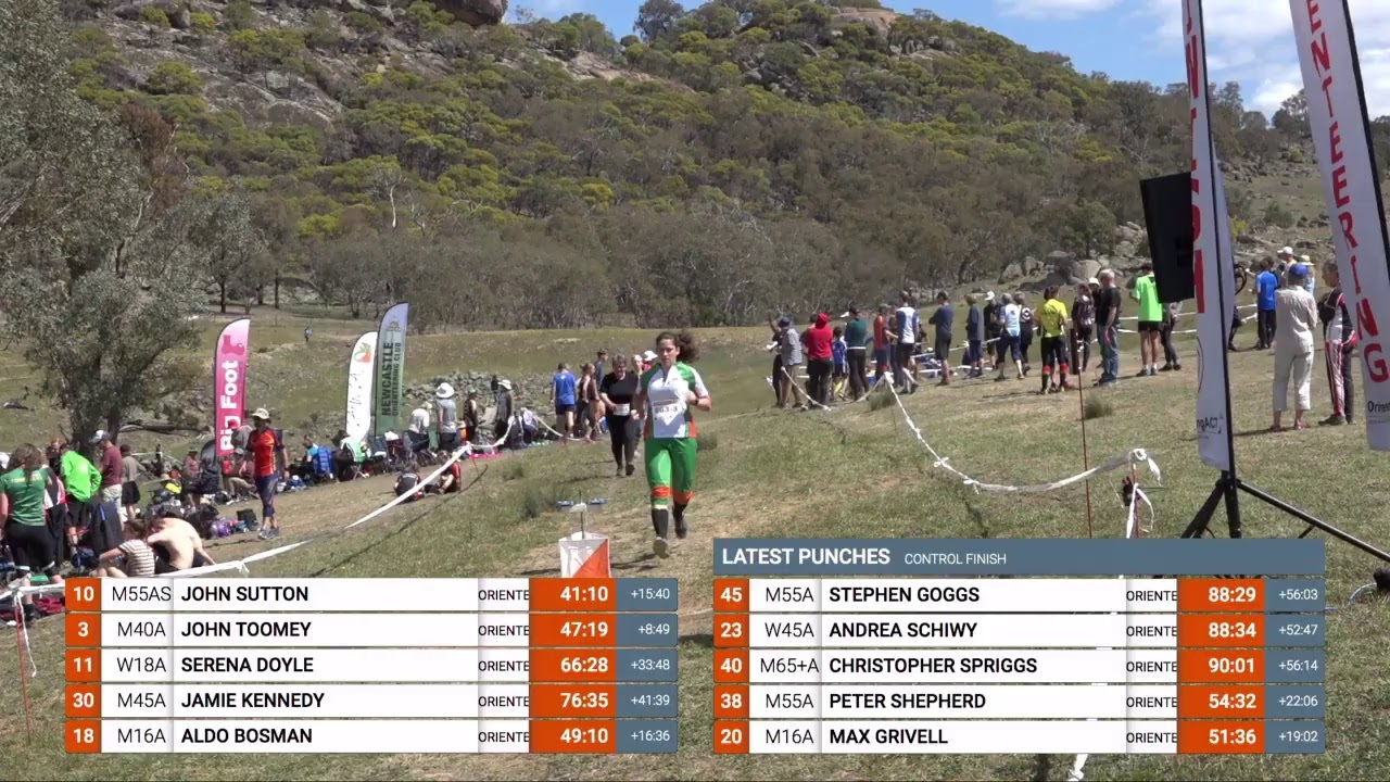 21-30 April - World Masters Orienteering Championships